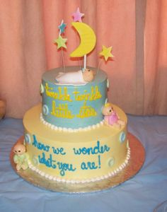 128 best baby shower cakes gender neutral images on pinterest