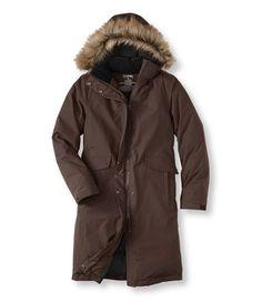 Acadia Down Coat, LLBean