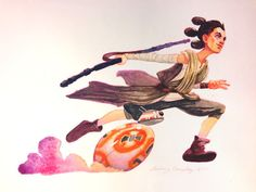 """The Fan Art For """"Star Wars: The Force Awakens"""" Is Staggeringly Beautiful"""
