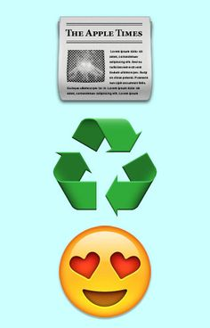 Do you recycle paper and cardboard...we hope so. Show your love for recycling paper with this simple graphic. #paper #recycling #love