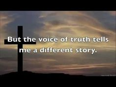 Casting Crowns - Voice Of Truth (Slideshow With Lyrics) ♥ Christian Rock Music, Christian Music Videos, Praise And Worship Music, Praise Songs, Casting Crowns, Song Words, Music Express, Greatest Songs, Inspirational Videos