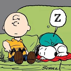 Snoopy sleeping on couch w/ Charlie Brown Snoopy Cartoon, Peanuts Cartoon, Peanuts Snoopy, Snoopy Hug, Baby Snoopy, Snoopy Party, Snoopy Comics, Cartoon Jokes, Funny Jokes