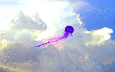 Resultado de imagen para jellyfish Clouds