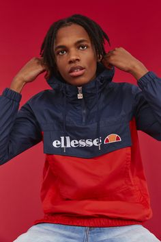 ellesse, ellesse clothing, trend, fashion, style, jacket, spring collection, spring, ellesse jacket, ellesse spring, ellesse red,