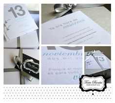 Tarjetas de Casamiento  by tintabonita, via Flickr