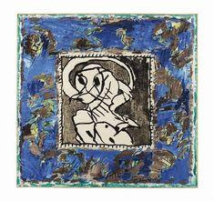 Pierre Alechinsky - Poste d'Observation, 1987, ink... on MutualArt.com