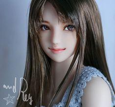 聖奈 : and Rey works Pretty Dolls, Cute Dolls, Beautiful Dolls, Anime Dolls, Bjd Dolls, Persona, Enchanted Doll, Marvel Comics Art, Realistic Dolls