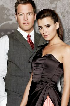"Michael Weatherly and Cote De Pablo as ""Tony & Ziva"".....this is SO Jason and my costumes this year!!!!"