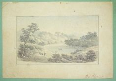 Early-19c-Old-Master-Style-Graphite-Watercolor-Signed-De-Flurie-w-Macbeth-Speech