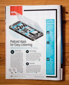 Money Magazine - Matt Chase   Design, Illustration
