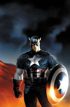Captain America by Jason Metcalf