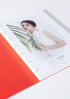 SS14 Lookbook for USE UNUSED  book concept & graphic layout: ARON FILKEY book binding: BENCE HAJDU  photographer: MATE MORO  UH SO OBSESSED WITH ALL OF THIS