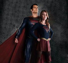 Superman and Supergirl movie and tv actors
