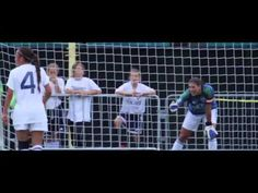 Hope Solo - Taking a direct kick in a football game