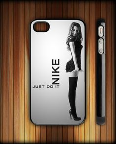 Sexy Girl Every Damn Day Just Do It Nike Custom iPhone 4/4S Hard Case