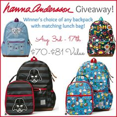 Hanna Anderson Giveaway |