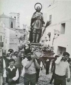 Pocessó de Sant Isidre al 1982
