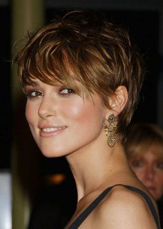 pixie cuts for heart-shaped faces | Hairstyles for Heart-shaped Faces: