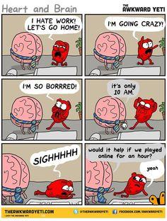 Comic by The Awkward Yeti @theawkwardyeti The Awkward Yeti comics http://theawkwardyeti.com