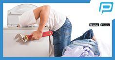 ¿Ya tienes el 'hamper' lleno de ropa? ¡No pierdas más tiempo! Repara tus enseres con Profesionales Certificados #PingPro