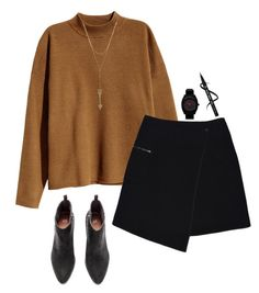 """""""Your sins unforgiving"""" by km213 ❤ liked on Polyvore featuring H&M, MARC CAIN, Nixon and Rebecca Minkoff"""