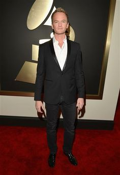 Neil Patrick Harris arrives at the 56th annual Grammy Awards at Staples Center in Los Angeles on January 26, 2014.