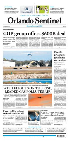 Orlando Sentinel New York Post, Prison, Florida, How To Plan, The Florida