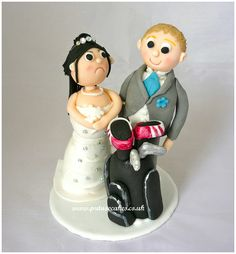 Exclusive Bride and Groom Wedding Cake Toppers You Will Love -  What makes your wedding cakes become so exclusive? The design and appearance of the case will become the first thing that al people will remember and ...