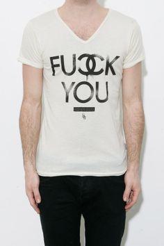 Boom Bap - CC -  Fuck You T-Shirt (cream)
