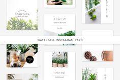 Waterfall Instagram Pack @creativework247