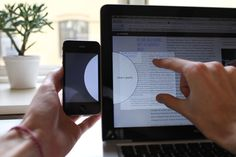 Watch This Ingenious UI Idea, For Dragging Files From Your Phone To Computer   Co.Design: business + innovation + design