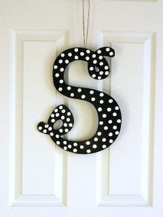 Hanging Letter S