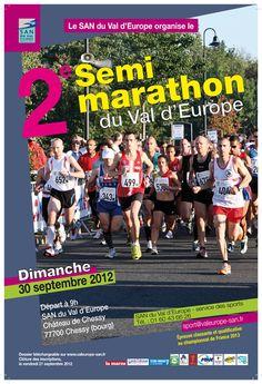 2ème semi-marathon Val d'Europe - Partenariat la-seine-et-marne.com - 2012