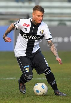 Amato Ciciretti of Parma Calcio in action during the Serie B match between Parma Calcio and AC Perugia at Stadio Ennio Tardini on February 11, 2018 in Parma, Italy.