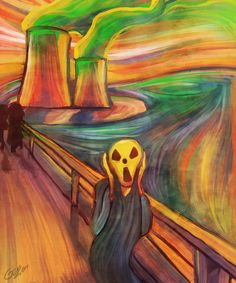 Art parody: the scream. Scream Parody, Scream Art, Edvard Munch, Le Cri Munch, Arte Pink Floyd, Armadura Cosplay, Expressionist Artists, Famous Art, Arts Ed
