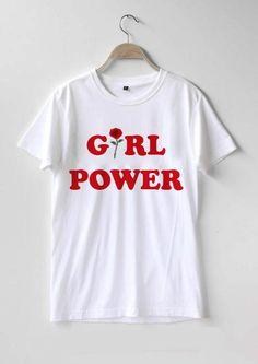 Girl power T-shirt Men Women and Youth