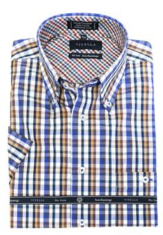 Just added to our collection at The Abbey Button-Down Colla... Check it out here http://theabbeycollection.ca/products/button-down-collar-short-sleeve-no-iron-plaid-sport-shirt-by-viyella?utm_campaign=social_autopilot&utm_source=pin&utm_medium=pin