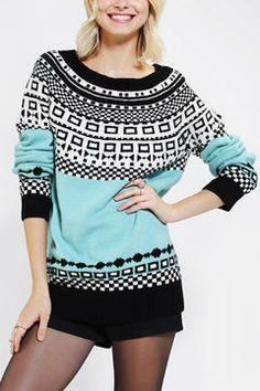 Cooperative Mod Fair Isle Sweater on shopstyle.com