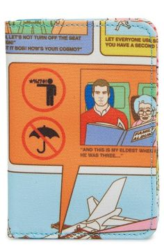 Flight 001 'Flight Safety' Passport Cover available at #Nordstrom
