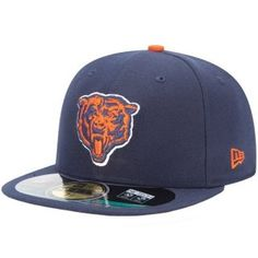 Chicago Bear NFL On Field Alternate Logo Fitted Hat 7 38 ** Want additional info? Click on the image.