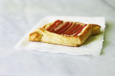 Rhubarb Danishes with Almond Cream | Seven Spoons
