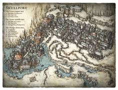 Skullport - The pirate infested underbelly of Waterdeep © Wizards of the Coast