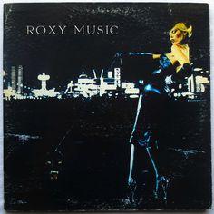 Roxy Music 1973 For Your Pleasure LP Vintage Vinyl Record Album. This lp is so…