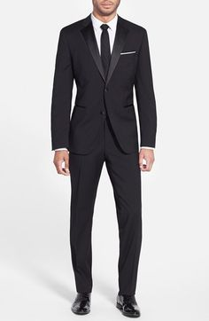 BOSS 'The Stars/Glamour' Trim Fit Wool Tuxedo | Nordstrom