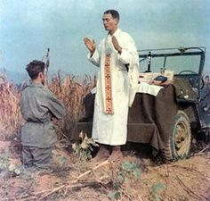 Emil Kapaun was a Catholic priest, a U.S Army chaplain in the Korean War, and a candidate for sainthood. In prison, Fr. Kapaun served his fellow prisoners without regard for race, color or creed. To this there is testimony of men of all faiths. He provided endless hours of prayer  what nourishment he could find to keep them from starving to death. Ignoring his own ill health, he nursed the sick  wounded until a blood clot in his leg prevented his daily rounds. His death soon followed in…