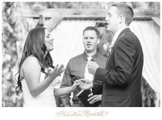 Worship during the Ceremony {Caleb and Breanna} Vintage Country Wedding at The Grove