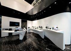 Erno Laszlo luxury boutique by FAK3, Hong Kong store design
