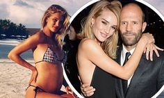 Rosie Huntington-Whiteley reveals she's pregnant