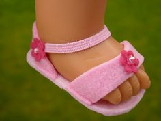 Doll clothes cm eg for baby Annabell Zapf/Götz Cookie 48 cm doll shoes pink felt sandals beads pink color sandals - Pink Things Doll Clothes Cm E. For Baby Annabell Zapf/götz Cookie 48 Cm Doll Shoes Pink Felt San Sewing Doll Clothes, Sewing Dolls, Girl Doll Clothes, Girl Dolls, Baby Dolls, Dress Sewing, Clothes Women, Barbie Clothes, Muñeca Baby Alive