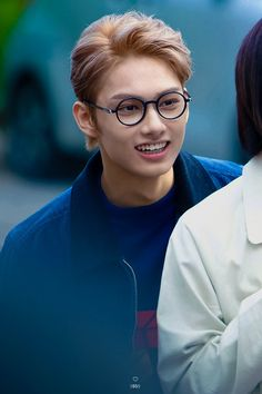 Baby Jun in glasses omg